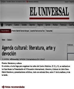 Periódico el Universal Digital 10 - 16